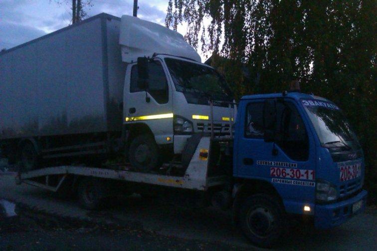 Эвакуатор для грузовика