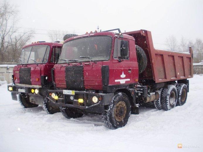 Грузовые эвакуаторы Tatra